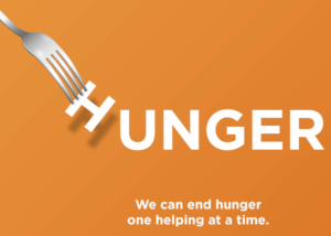 Hunger Action Month - We can end hunger one helping at a time
